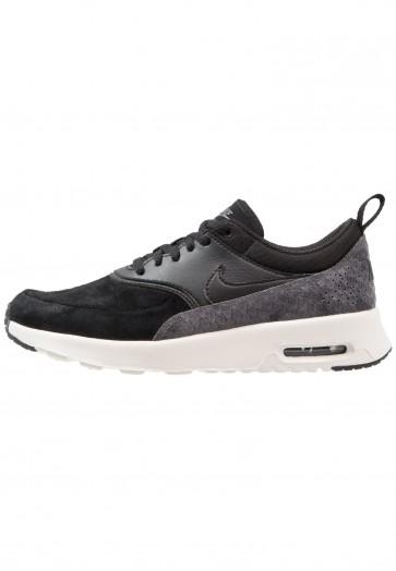 Nike Footwear Air Max Thea PRM - Chaussures de Sport Basse/Faible - Noir/Vert Foncé - Femme