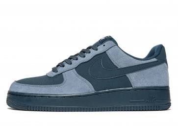 Nike Air Force 1 Homme Bleu Chaussures de Fitness