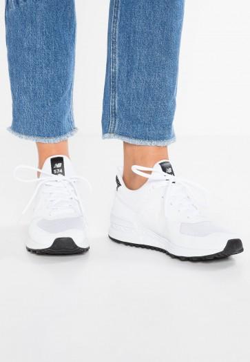 New Balance WS574 - Chaussures de Sport Basse/Faible - Blanc - Femme