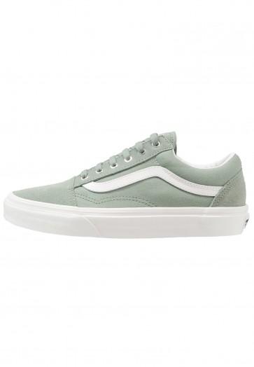 Vans Old Skool - Chaussures de Sport Basse/Faible - Blanc - Femme/Homme