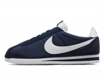 Nike Nylon Cortez classique Homme Bleu Chaussures de Fitness