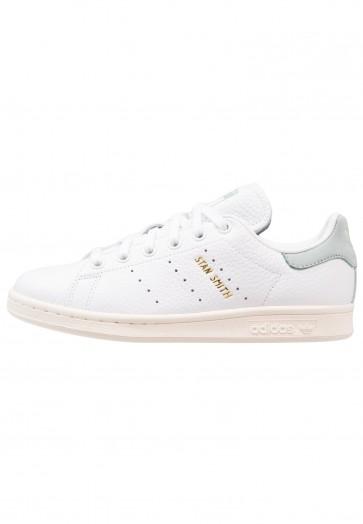 Adidas Originals Stan Smith - Chaussures de Sport Basse/Faible - Blanc/Vert Tactile - Femme/Homme