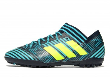 Adidas Ocean Storm Nemeziz 17.3 Turf Homme Bleu Chaussures de Fitness