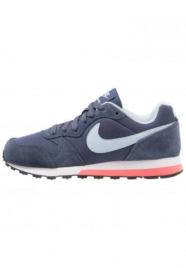 Nike Footwear MD Runner 2 - Chaussures de Sport Basse/Faible - Bleu/Marine Arsenal/Blanc/Noir - Femme
