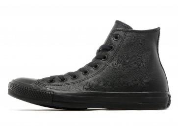 Converse Baskets Montantes All Star Hi Leather Mono Homme Noir Chaussures de Fitness