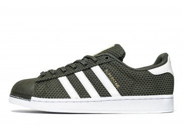 Adidas Originals Superstar Knit Homme Vert Chaussures de Fitness