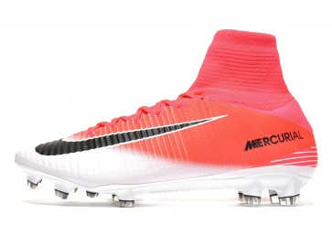 Nike Motion Blur Mercurial Superfly FG Homme Rose Chaussures de Fitness