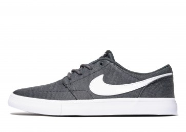 Nike SB Solarsoft II Portmore Homme Gris Chaussures de Fitness