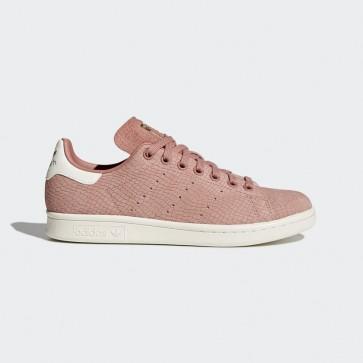 Ash Pink Adidas Stan Smith chaussures de sport pour femmes - Rose blanc
