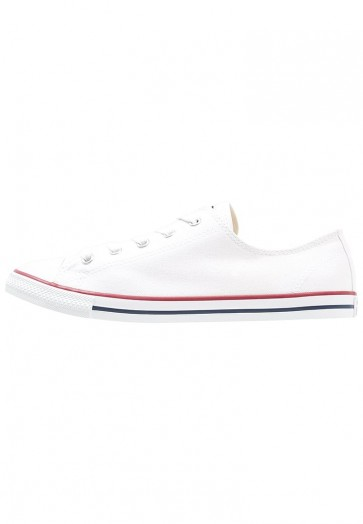 Converse Chuck Taylor All Star Dainty - Chaussures de Sport Basse/Faible - Blanc - Femme