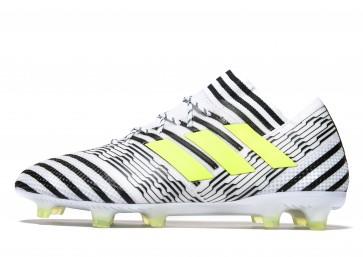Adidas Dust Storm Nemeziz 17.1 FG Homme Blanc Chaussures de Fitness