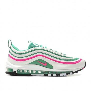 Nike Air Max 97 'South Beach' Homme Chaussure de Running 921826-102 Blanc/Vert/Rose