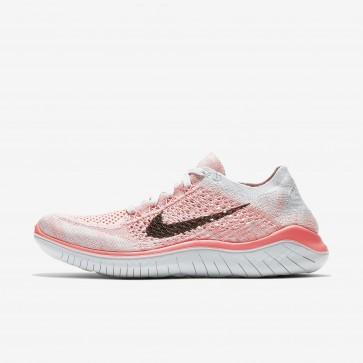 Femme chaussures de course 942839-800 Nike Free RN Flyknit 2018 cramoisi impulsion/platine pur/violet plus pâle/noir pâle/noir