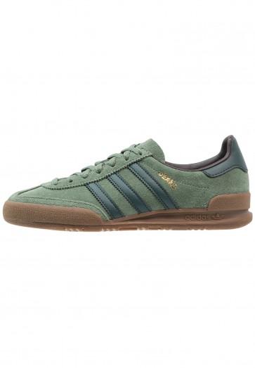 Adidas Originals Jeans - Chaussures de Sport Basse/Faible - Vert Trace/Vert Nacht/Noir/Noir - Femme/Homme