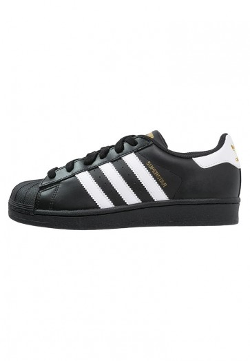 Adidas Originals Superstar Foundation - Chaussures de Sport Basse/Faible - Noir Noyau/Blanc - Femme