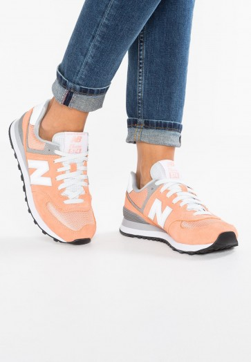 New Balance WL574 - Chaussures de Sport Basse/Faible - Rose - Femme