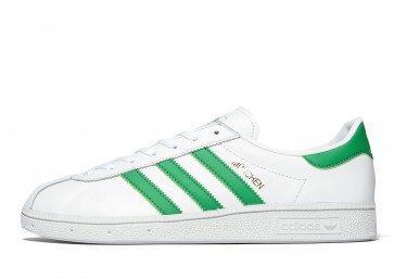 Adidas Originals Munchen Homme Blanc Chaussures de Fitness