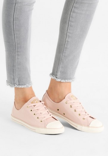 Converse Chuck Taylor All Star Dainty Craft - Chaussures de Sport Basse/Faible - Rose Poussiéreux/Or - Femme