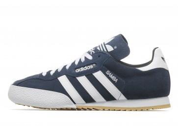 Adidas Originals Samba Super Homme Bleu Chaussures de Fitness