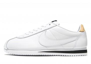 Nike Cortez Leather Homme Blanc Chaussures de Fitness