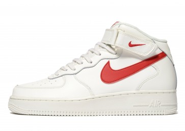 Nike Air Force 1 Mid Homme Gris Chaussures de Fitness