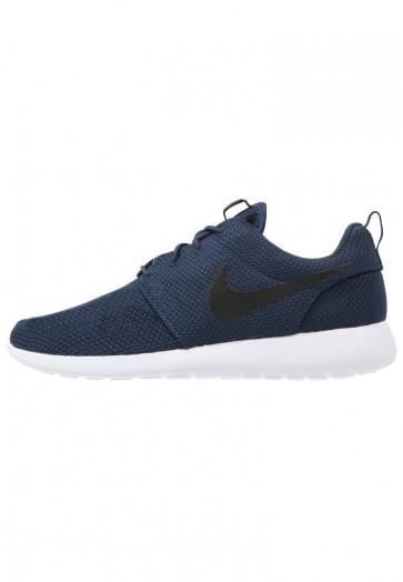 Nike Footwear Roshe One - Chaussures de Sport Basse/Faible - Marin Minuit/Marin/Noir/Blanc - Homme