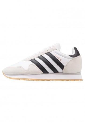 Adidas Originals HAVEN - Chaussures de Sport Basse/Faible - Blanc/Noir Noyau - Femme/Homme