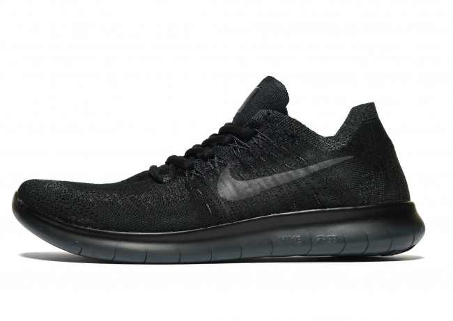 taille 40 a0e4e 03661 Nike Free RN Flyknit Homme Noir Chaussures de Fitness