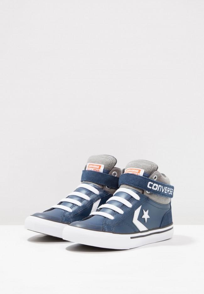 3743383b6edc2 Converse Pro Blaze Strap - Chaussure de Running Haute High - Marin Bleu  Marin. Zoom. prev