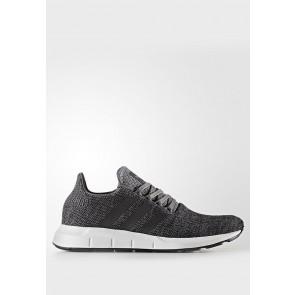 Adidas Originals Swift Run - Chaussures de Sport Basse/Faible - Gris/Noir/Blanc - Femme/Homme