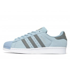 Adidas Originals Superstar Suede Homme Bleu Chaussures de Fitness