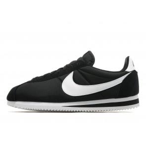 Nike Nylon Cortez Homme Noir Chaussures de Fitness