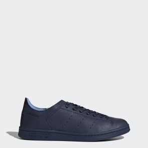 Femme Chaussures de course Adidas Stan Smith Leather Sock - Collegiate Navy/Bleu marin