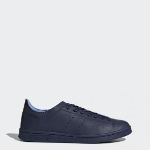 Femme Chaussures de course Adidas Stan Smith Leather Sock - Collegiate Navy/Bleu marin