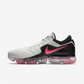 Homme Nike Air VaporMax Chaussures de Fitness AH9046-001 Beige clair/Argent métallique/Noir/Rouge cocktail