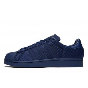 Adidas Superstar Quilt Homme Bleu Chaussures de Fitness