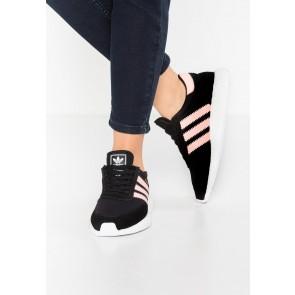 Adidas Originals Iniki Runner - Chaussures de Sport Basse/Faible - Noir Noyau/Brume de Corail/Blanc - Femme
