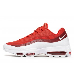 Nike Air Max 95 Ultra Essential Homme Rouge Chaussures de Fitness