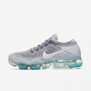 Nike Air VaporMax Flyknit - Chaussures de Sport Basse/Faible - 922914-002 Gris froid/Platine pur/Gris loup/Blanc - Femme