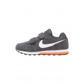 Nike Footwear MD Runner 2 - Chaussures de Sport Basse/Faible - Anthracite/Blanc/Orange Terra/Noir - Enfant
