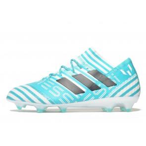 Adidas Ocean Storm Nemeziz 17.1 FG Messi Homme Bleu Chaussures de Fitness