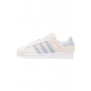 Adidas Originals Superstar - Chaussures de Sport Basse/Faible - Gris Perle/Bleu Tactile - Femme/Homme