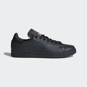 Adidas chaussures de running - Stan Smith cuir floral brodé - Carbon/noyau noir