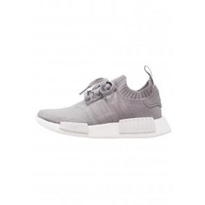 Adidas Originals NMD_R1 PK - Chaussures de Sport Basse/Faible - Gris/Blanc - Femme