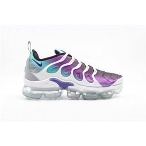 Nike Air VaporMax Plus Homme Chaussure de running 924453-101 Blanc/Aurore/Noir/Féroce Violet
