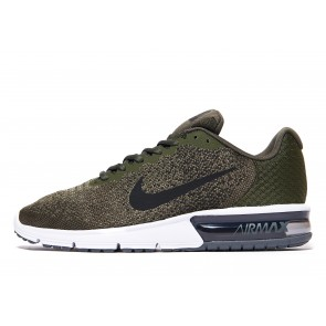 Nike Air Max Sequent 2 Homme Vert Chaussures de Fitness