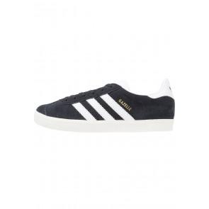 Adidas Originals Gazelle - Chaussures de Sport Basse/Faible - Noir Noyau/Blanc/Or Métallisé - Femme