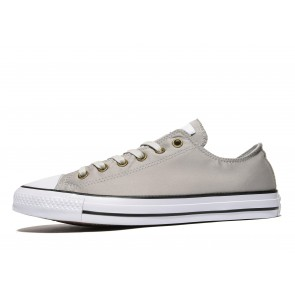 Converse All Star Ox Twill Homme Gris Chaussures de Fitness