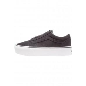 4ce248e569 Vans Old Skool Platform - Chaussures de Sport Basse Faible - Blanc Sommet -  Femme