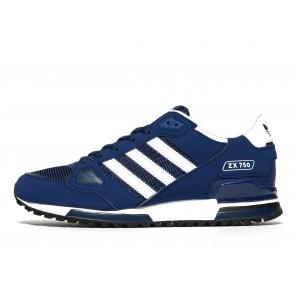 Adidas Originals ZX 750 Homme Bleu Chaussures de Fitness